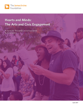 Hearts and Minds:  The Arts and Civic Engagement